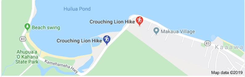 How to reach to the Crouching Lion Hike