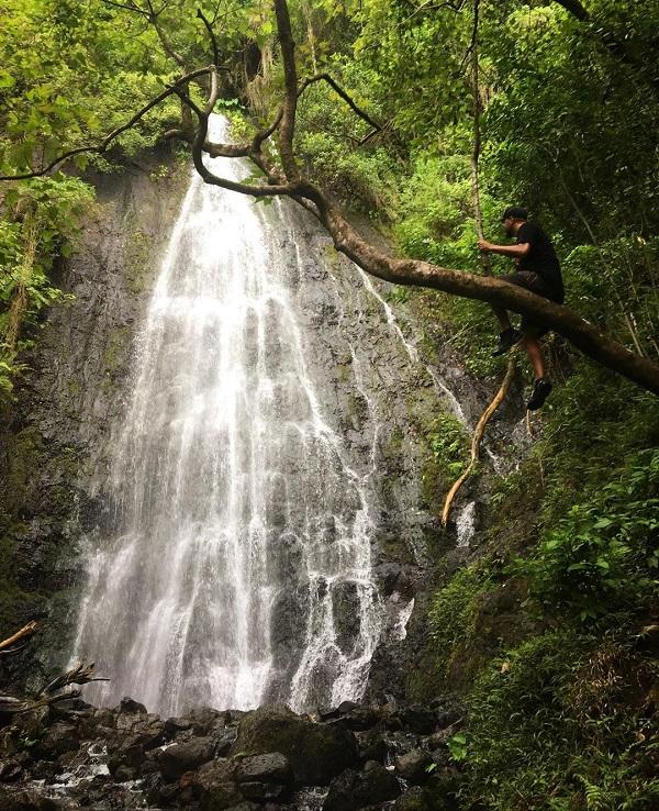 Hamama falls hike