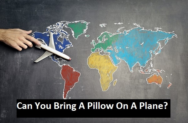 Can You Bring A Pillow On A Plane