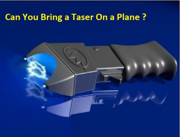 Can You Bring a Taser On a Plane