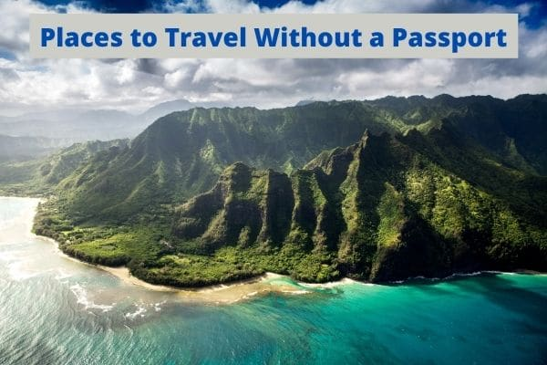 places to travel without a passport